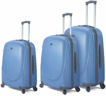 SET 3 TROLLEYS 4 RUEDAS LIGHT ABS BENZI