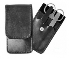 MANICURA SET LEATHER POUCH