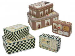 CAJAS REGALO 3UNID. VINTAGE RECTANG. DECOR