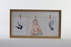 MARCO MULTIFOTO PARED MADERA 41.5x23x3cms.